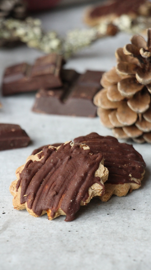 biscuit chataigne chocolat sans gluten et sans lactose. Recette d'automne.
