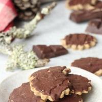 Biscuits châtaigne/chocolat (sans gluten et sans lactose)