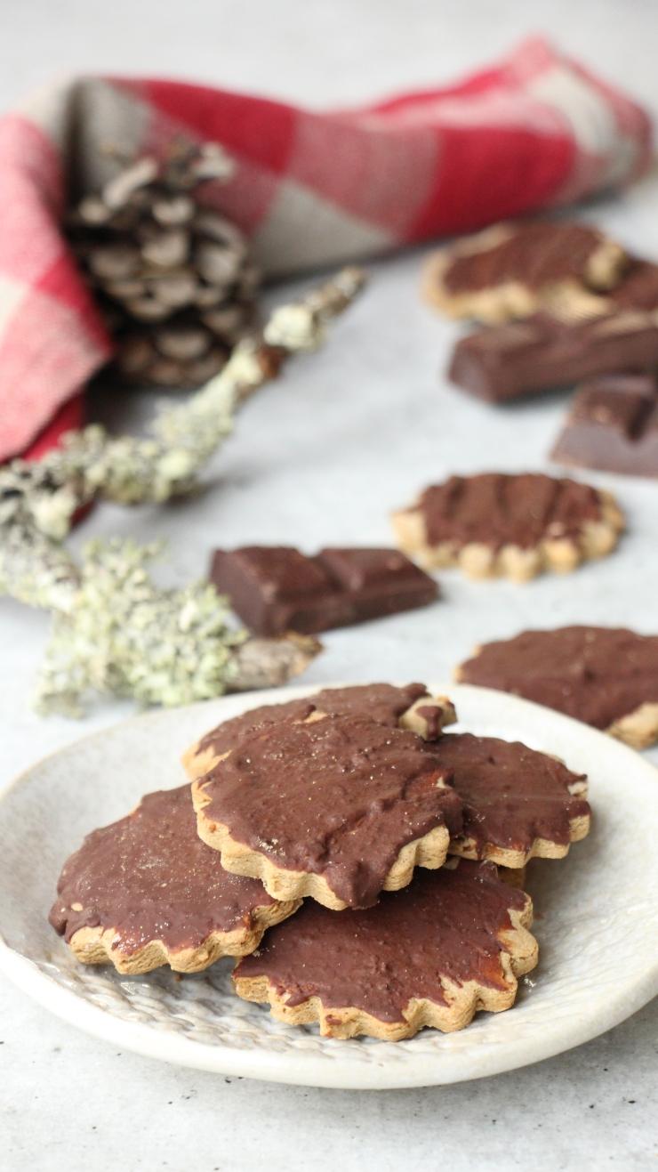 biscuit chataigne chocolat